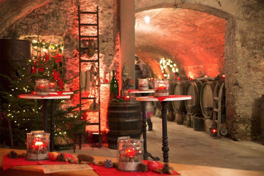Kerst wordt dit jaar gevierd in de wijnkelders van Traben-Trarbach © Toerisme Traben-Trarbach