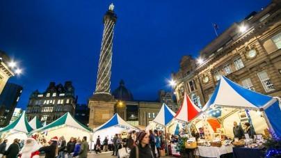 Voordelig kerstshoppen in Engeland: met bmi regional naar Newcastle