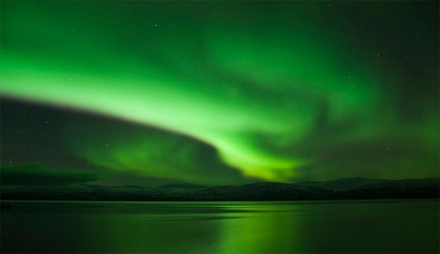 Het Noorderlicht in Kiruna