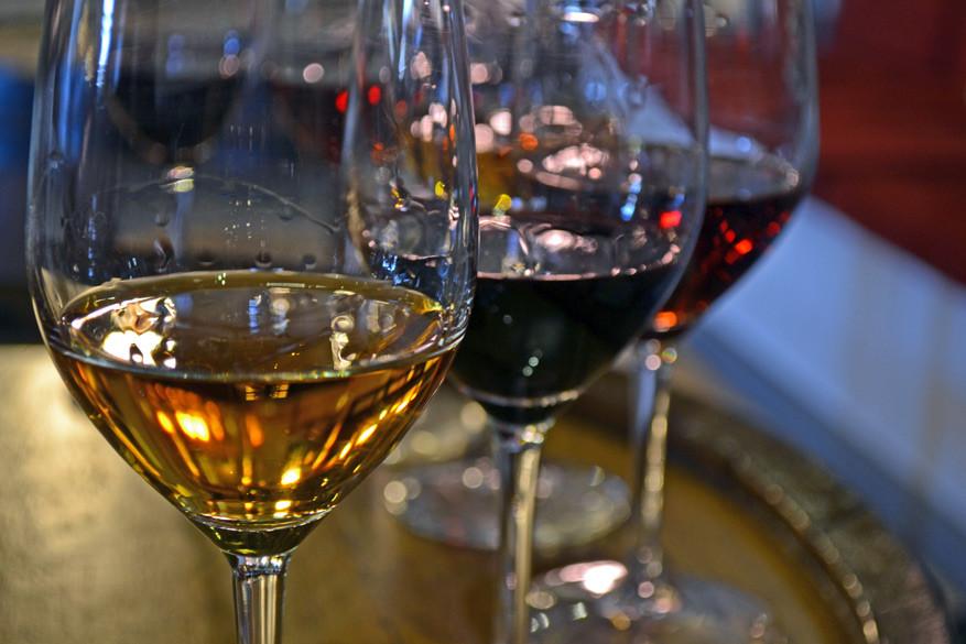 Porto's proeven in wijnhuis Ramos Pinto