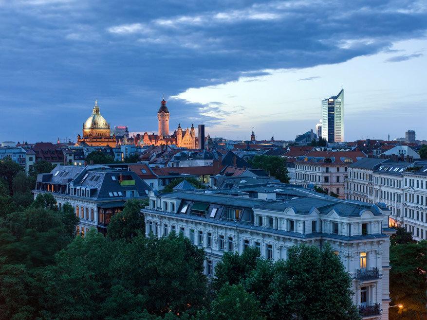 De skyline van Leipzig © LTM – Tom Schulze