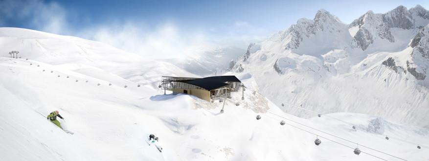 St. Anton am Arlberg is het grootste skigebied van Oostenrijk