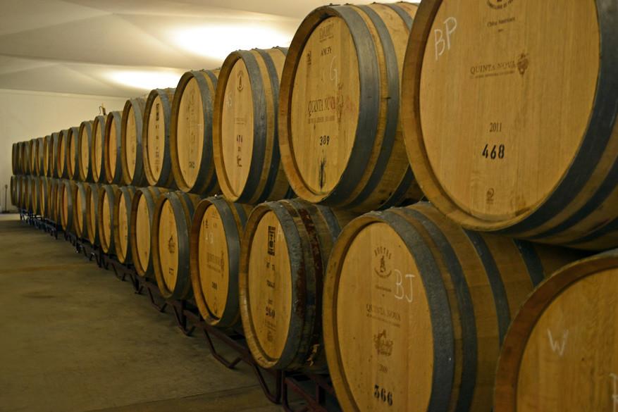 De 'slapende' vaten wijn