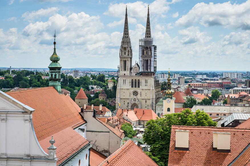 De kathedraal van Zagreb © Álvaro Vega Sánchez