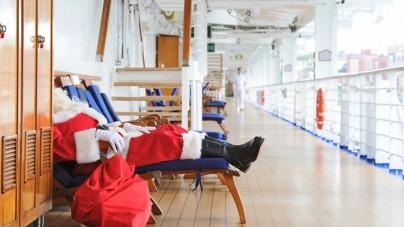Origineel: vier de feestdagen aan boord van een cruise