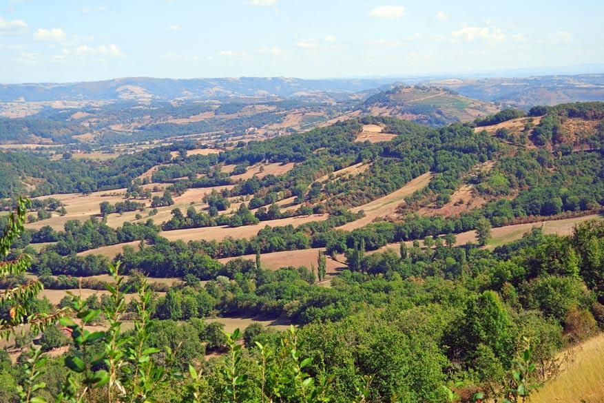 Aveyron op haar best.