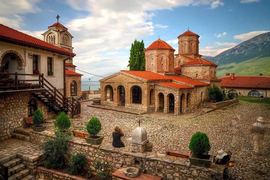 Het klooster van Sveti Naum. © Flickr Creative Commons (mariusz kluzniak)