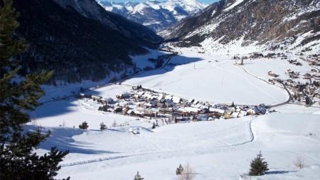 Wintersport in de Queyras betekent skiën in alle rust