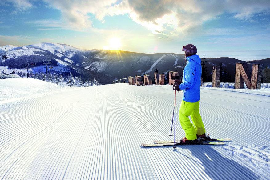 De skigebieden in Tsjechië zijn niet te groot, maar bieden genoeg variatie © CzechTourism