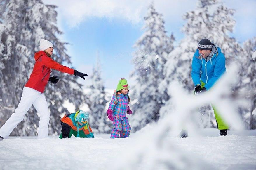 Dankzij aangepaste shows en sneeuwparken hebben ook de allerkleinsten een topvakantie © David Marvan