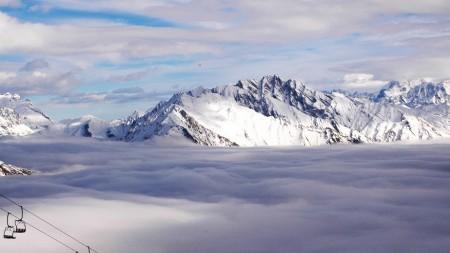 Skiënd langs de winterse troeven van Italiaanse Valle d'Aosta