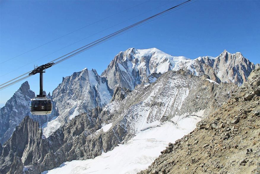 De SkyWay Monte Bianco © Wikimedia Commons