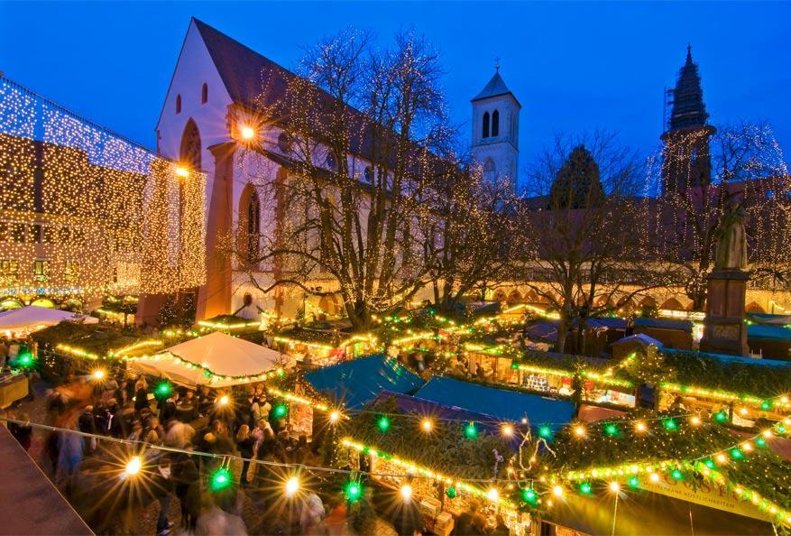Kerstsfeer in Freiburg