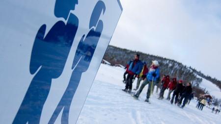 Doen: sneeuwschoenwandelen in Zweden
