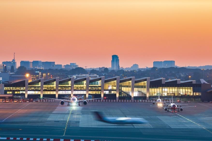 Een bijzondere blik op de luchthaven van Brussel