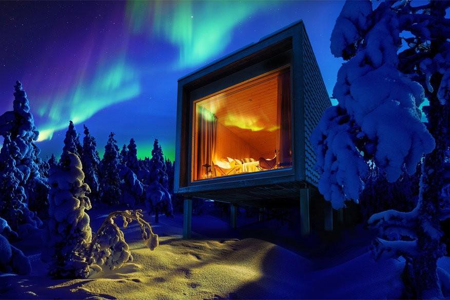 7 betoverende plekken om het noorderlicht in Finland te zien