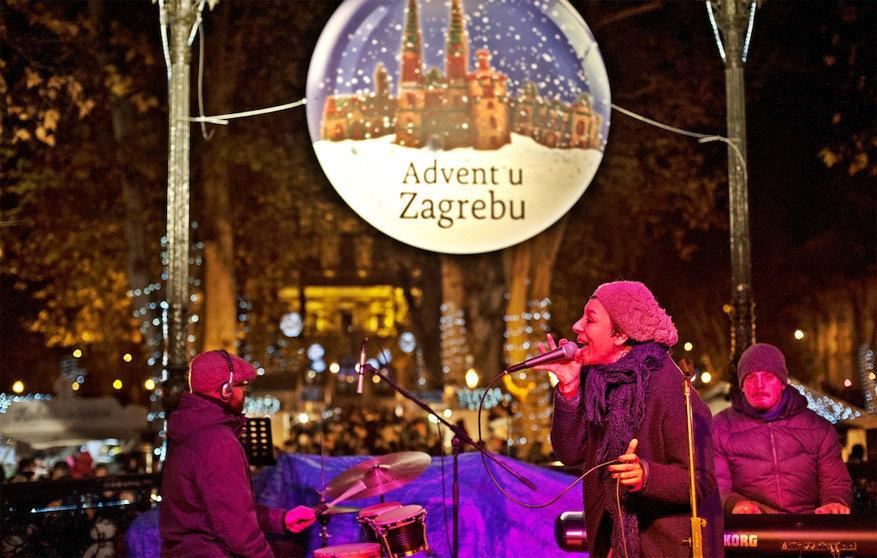 Advent in Zagreb betekent sfeervolle avonden met muziek