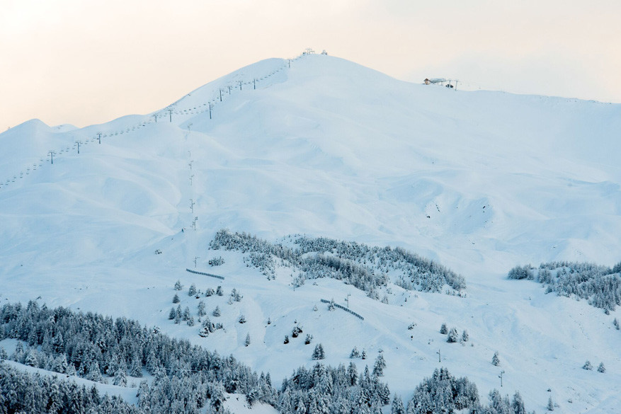 De Speed Masters starten op een hoogte van 2.715 meter om zo snel mogelijk 495 meter af te dalen.