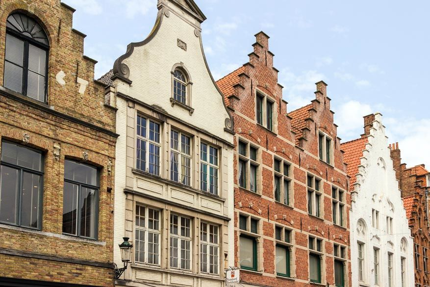 Fotogenieke gevels in Brugge. © Pixabay