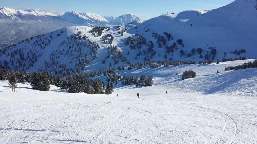 Zalig skiën zonder troepen toeristen!