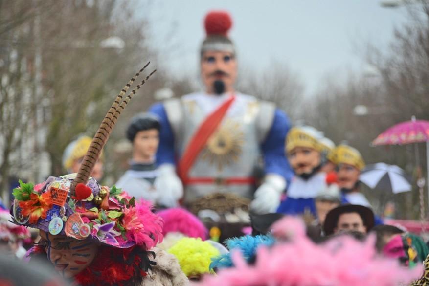 Uit je dak tijdens carnaval in Duinkerke