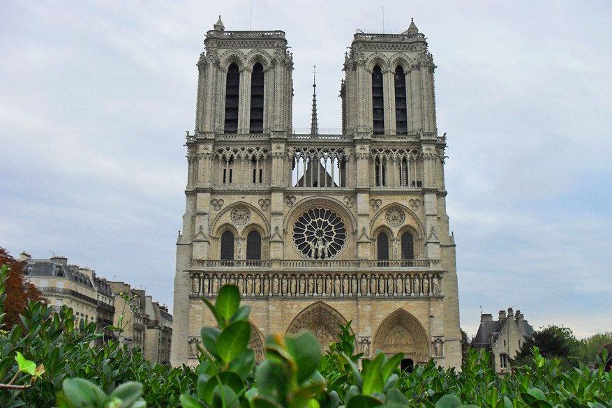 Ook de Notre-Dame kan je voor niets bezichtigen. © Pixabay