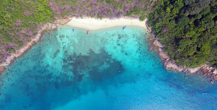 15 eilanden maken deel uit van de Northern Mariana eilandengroep.
