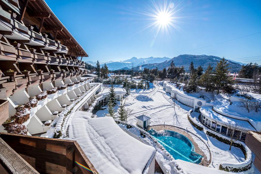 Wellnesshotel Krumers Alpin Resort. © Krumers Alpin Resort & Spa