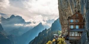 14 hotels op de klippen om bij weg te dromen