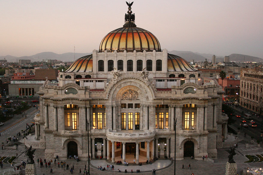 Mexico stad wint aan populariteit voor 2017 © Esparta Palma via Flickr Creative Commons