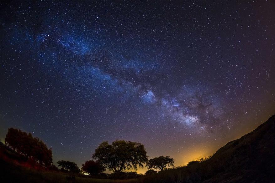 250 dagen per jaar kan je de Melkweg zien in Alentejo. © Alentjo Toerisme