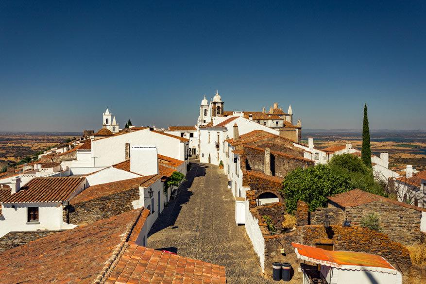 Must-see in Alentejo: de typsiche dorpjes met witte huisjes. © Alentjo Toerisme