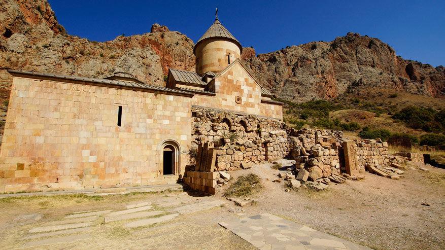 Het klooster van Noravank.