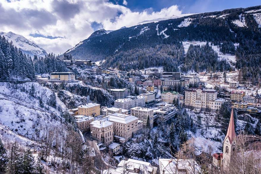 Bad Gastein in ware Belle Époque stijl. © Gasteinertal Tourismus