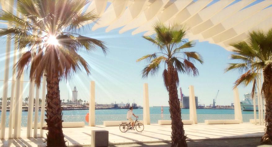De moderne haven van Málaga. Nick Kendrick via Flickr Creative Commons