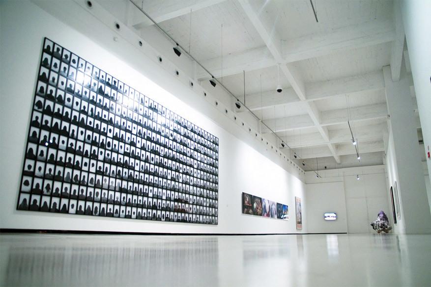 Binnenin het Centro de Arte Contemporáneo Málaga. © Anne Helmond via Flickr Creative Commons