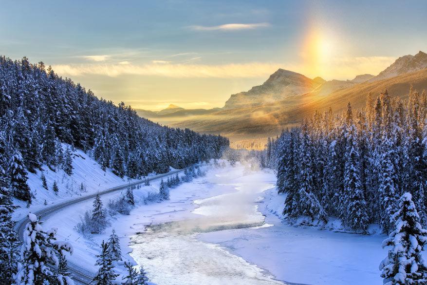 The Revenant: Banff National Park Canada