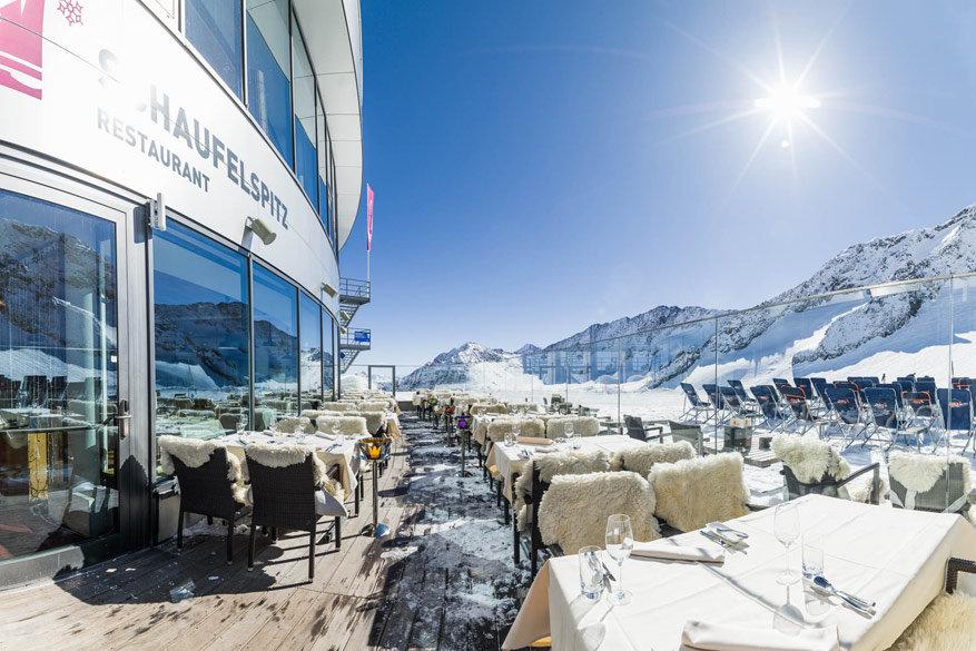 Restaurant Schaufelspitz © Stubaier Gletscher / Andre Schönherr