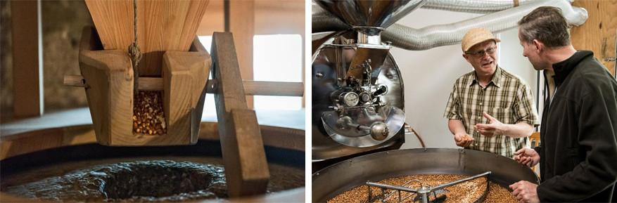 In Vergeletto leer je van mais meel maken. © Ticino Tourisme