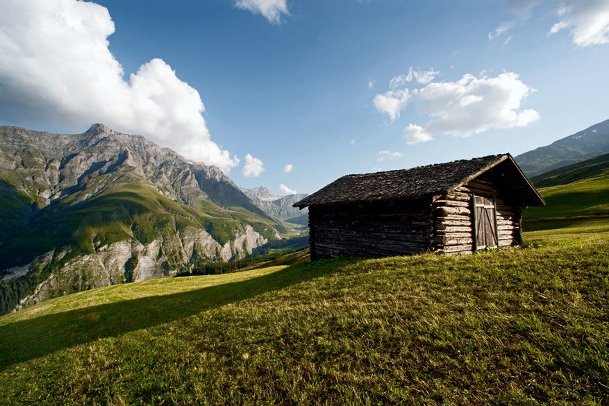 Hooien in Safiental. © Zwitserland Toerisme