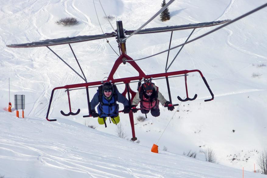 Adrenaline en avontuur op de Fisser Flieger! © Bruno Loockx