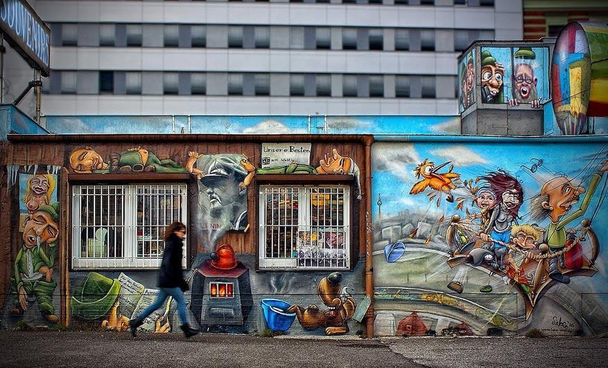 Een klassieker in Berlijn: East Side Gallery