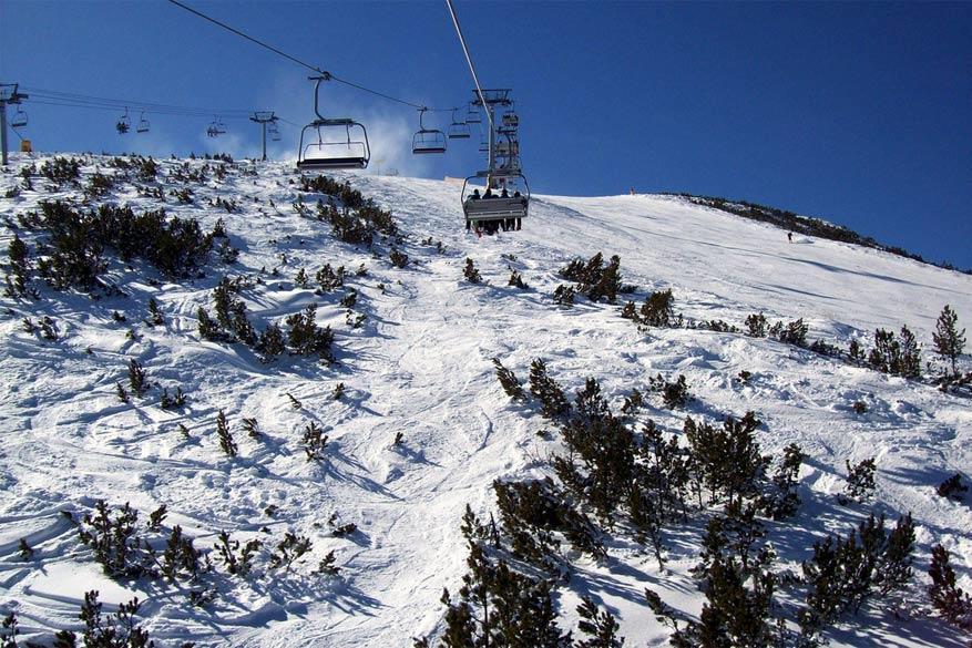Het skigebied van Bankso telt 75 kilometers aan pistes met 14 skiliften. © summonedbyfells via Flickr Creative Commons