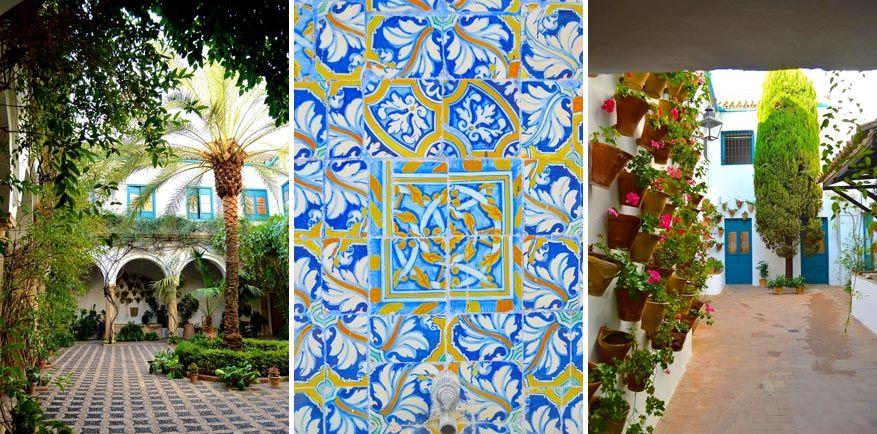 Bezoek de fleurige patio's zelf te voet of begeleid.
