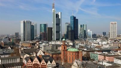 Frankfurt is een stad van contrasten