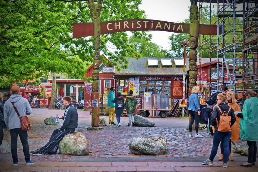 Laat je verrassen in de aparte vrijstad Christiania.