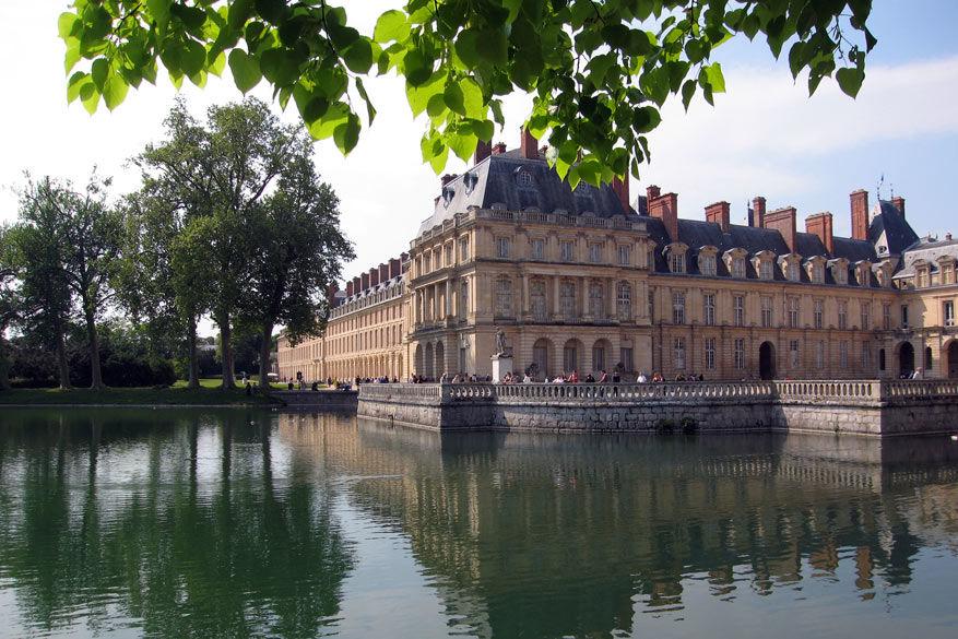 Startpunt van de N7: Fontainebleau