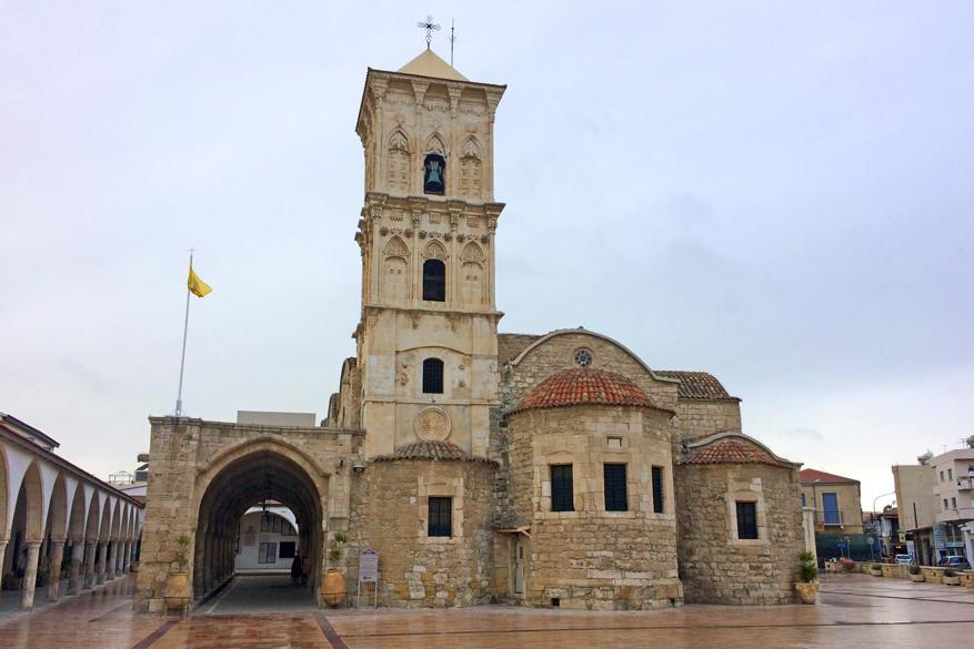 De Agios Lazaros-kerk in Larnaka.