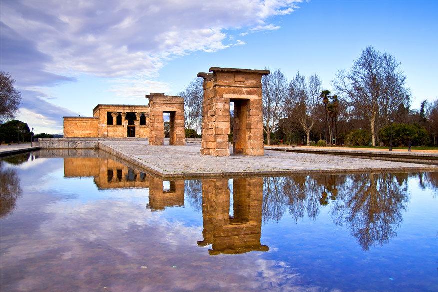 Templo de Debod. © Wikimedia Commons