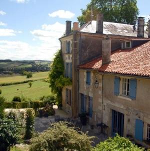 B&B Les Mirandes: charmant genieten bij Belgen in de Charente
